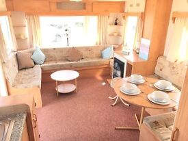 STARTER CARAVAN PERFECT FOR FIRST TIME BUYERS ,SITED ON FRIENDLY FAMILY PARK ON THE NORTH EAST COAST