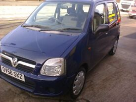 VAUXHALL AGILA EXPRESSIONS TWINPORT. LOW MILAGE. 56 REG