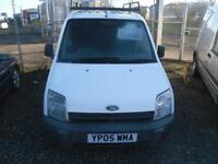 FORD TRAN CONNECT 200 D SWB LOW ROOF/ROOF BARS will come with years mot. SEVERAL VAN IN STOCK 2005