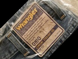 2 pairs of*BRAND NEW* Wrangler OHIO jeans