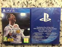 Sealed PS4 Fifa 18