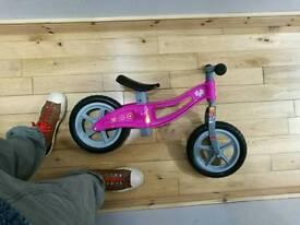 Girls Pink Balance Bike