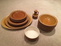 HORNSEA POTTERY PLATES AND BOWLS