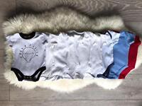 Baby vests x9! 0-3 months
