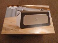 Bush Classic Stereo FM Radio - Brand New In Box
