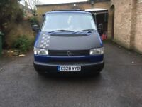 2001 X Reg , VW T4 Camper/ Dayvan, Low Mileage , average condition , lots of extras.