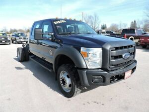 2012 Ford F-550 Chassis CAB XL, Dsl. Crew. Local well maintained