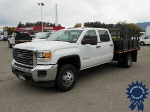 2015 GMC Sierra 3500HD Deck Truck, 6.0L V8, Dual Rear Wheels