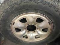 Toyota hilux wheel /tyre