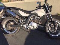125cc derbi cross city motorbike