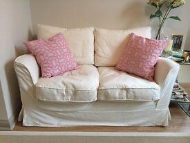 2 man White OKA sofa