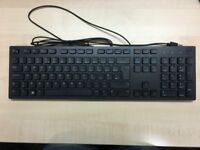 Brand New Dell USB (wired) Keyboard and Optical Mouse