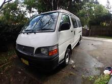 2003 Toyota Hiace Pop Top fully fitted campervan Chatswood Willoughby Area Preview