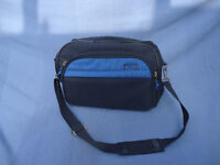 Hand luggage flight 'Marco Polo' shoulder bag- blue – in good condition