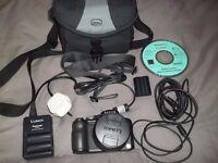 Panasonic Lumix Digital Camera. Model DMC-F218 with accessories £70