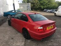 BREAKING PARTS SPARES - BMW 3 series E46 330Ci Sport Imola Red Facelift Coupe 2dr