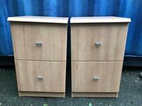 2 modern filing cabinets FREE DELIVERY PLYMOUTH AREA