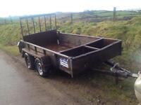 Plant trailer 10x5 ifor Williams