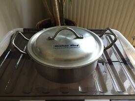 Kitchen Silver pot for sale
