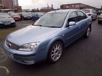 2005 FORD MONDEO 3.0 V6..LONG MOT..FULL LEATHERS..QUICK SALE