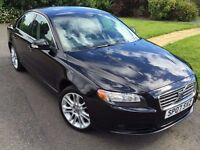 ★12 MONTHS WARRANTY★ (2007) VOLVO S80 2.5 T SE SPORT 4DR -LEATHER - ALLOYS - FSH - FREE DELIVERY UK