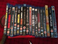 Selection of Blu-ray DVDs for sale - 17 in total