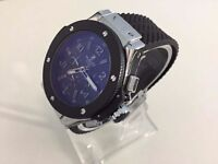 New Hublot Big Bang King Power Silver Case Automatic watch with Open work back