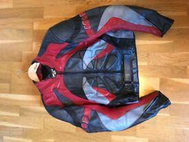 Bike leathers, 2 piece, very little use, £60