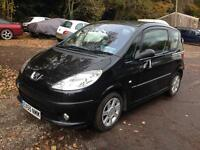 2005 PEUGEOT 1007 DOLCE 1.4 HDI BLACK FULL SERVICE HISTORY