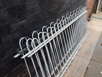 Wrought iron railings / Metal fencing / Wall topper / Driveway / Gates / Garden fence / Patio / Deck