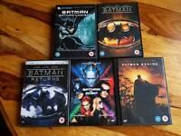 5 X batman dvd bundle