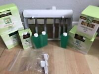 Clean and easy roller waxing kit with 53 refills