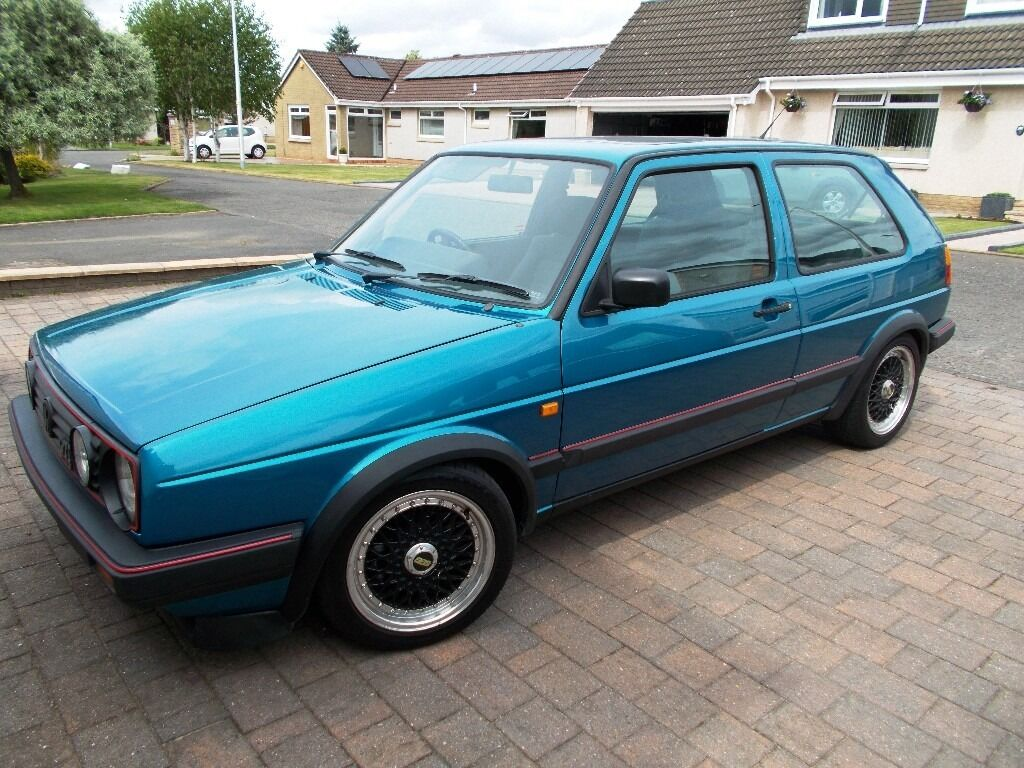 VW Golf MK2 GTi 16v - Rare Monza Blue | in Bothwell ...