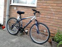 For sale bike 26=size wheel company bike TREK.