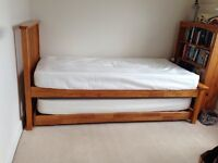 Trundle Guest Bed with mattresses