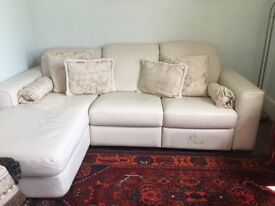 Natuzzi corner sofa