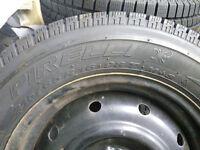 Subaru Legacy/Impreza/Forester winter wheels and tyres. 215/65 R16 98 Pirelli Scorpion Ice and Snow