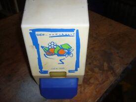 deb soap dispenser ,ideal for vans , motor sports vehicles