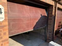 Electric Garage Door - Sectional Garador with all fittings