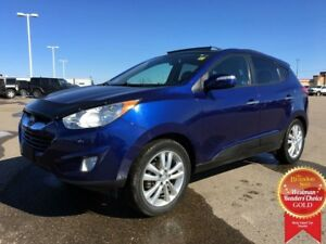 2010 Hyundai Tucson Limited AWD *Heated Leather* *Dual Sunroof*