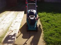 botch lawnmower electric in new condition