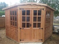 Tongue and Groove corner Summerhouse
