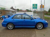 SUBARU IMPREZA 2.5 WRX GB270 4dr (blue) 2007