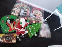 Christmas Lot Decorations and Lights car book job lot bulk collection