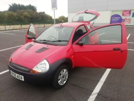 2005 Ford Ka 1.3 Petrol * Ideal First Car * Long Mot * Low Millage *