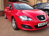 Seat Leon TSI Sport, ultra low mileage, good SH, taxed and MOT until 2018