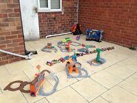Thomas the tank engine and batman toys