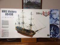 HMS VICTORY MODEL BOAT KIT