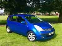2006 NISSAN NOTE 1.6 PETROL *** AUTOMATIC ****MOT TILL MAY 2018