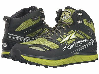 b5a7c992a4d Mens New Altra Lone Peak 3.0 Mid Trail Running Shoes Size 9.5 Lime